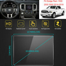 For Dodge Ram 1500 2500 3500 2014-2018 Vehicle GPS Screen Protectors Films  8.4""