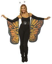 Butterfly Wings Womens Adult Halloween Costume Flowy Arm Sleeves
