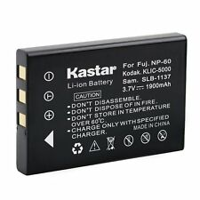 1x Kastar Battery for Fujifilm NP-60 Digimaster V6 YAESU VX-2 VX-2E VX-2R