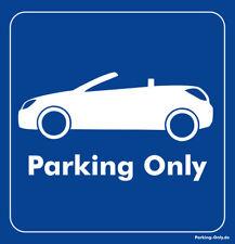 Parking Only - Opel Tigra TwinTop - Aufkleber