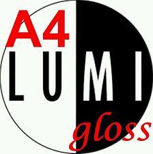 A4 180 gsm x 1000 sheets LUMI GLOSS 2 SIDED PRINTER PAPER - LASER - DIGITAL