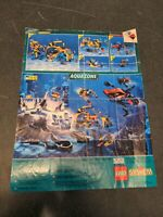 Vintage Lego System poster brochure - Pirates - 1990s