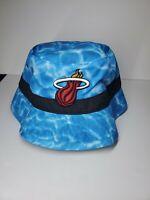 NBA Miami Heat Basketball Bucket Hat Mitchell & Ness NEW L/XL