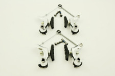 SET OF TEKTRO ORYX CANTILEVER FRONT & REAR BRAKES SILVER USED ON CYCLO CROSS