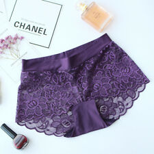 Womens Sexy Lace French Knickers Ladies Underwear Comfy Panties Lingerie Briefs