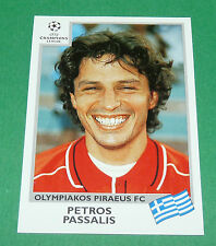 N°183 PASSALIS OLYMPIAKOS PANINI FOOTBALL CHAMPIONS LEAGUE 1999-2000