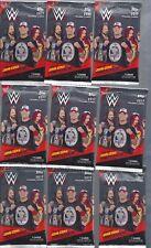 2017 TOPPS WWE WRESTLING PACK LOT 16 PACKS 7 CARD PACKS CENA TRIBUTE AUTO'S ? ?