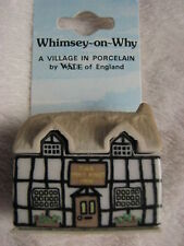 Wade Porzellan Figur, Whimsey-on-Why Nr.5 Why Knot Inn, A Village in Porcelain
