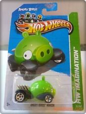"""Hot Wheels 2014 HW CITY """"ANGRY BIRDS MINION PIG"""" Collector #81/250"""
