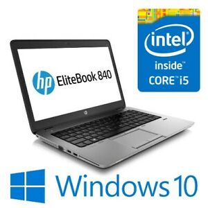 "HP EliteBook 840 G2 Laptop Intel i5 5300U 8G 128GSSD 14"" FHD TOUCH Win 10 Pro"