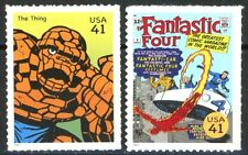 FANTASTIC FOUR Set of 2 Scarce MNH US Postage Stamps Scott's 4159d and 4159n