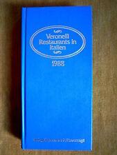 """""""Veronelli Restaurants in Italien (1988)"""" von Anne Lore Brakemeier"""