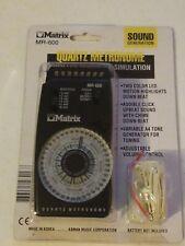MATRIX MR-600 Quartz Metronome