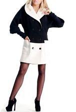 Knielange Mäntel aus Wolle für Business-Anlässe
