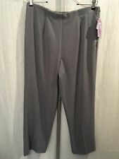 Investments Dress Pants 16 Short Length Slimming Side Zip New 181231