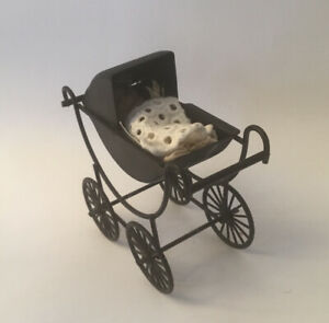 Dolls House Pram And Baby