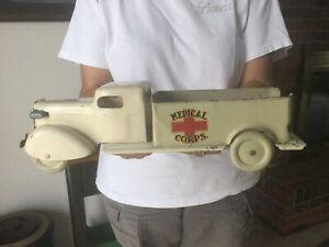 Vintage Wyandotte Pressed Steel Truck 1930's