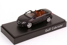 VW GOLF VI 6 GT TSI TDI 2012 CABRIOLET DARK PURPLE 1:43 SCHUCO (DEALER MODEL)
