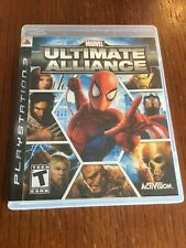Marvel Ultimate Alliance (Sony PlayStation 3 , 2006) PS3