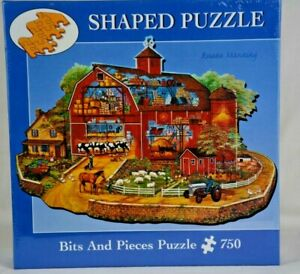 New Sealed 2006 Rune Manning Bits and Pieces Religious Puzzle The Red Barn