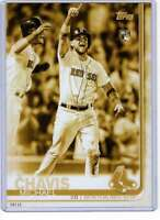 Michael Chavis 2019 Topps Update Variations 5x7 Gold #US170 /10 Red Sox