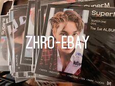 [Sealed New available] Signed SuperM Mini LP Poster SuperOne (Kai) Kai EXO