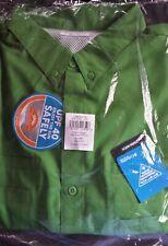 NEW COLUMBIA Men's PFG Tamiami 2XT LS Fishing Shirt XXL TALL Emerald Green NWT