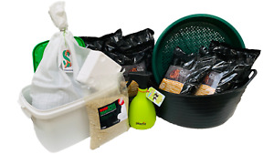 Wurmfarm - Premium Einsteigerpaket mit 0,5 kg mini Würmern - Regenwürmer, Dendro