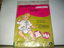 Vintage Paragon Bambi Walt Disney Productions Sacque Needlecraft Kit.Unopened.NR