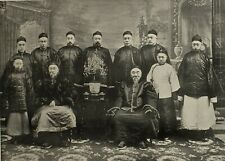 1900 CHINA PRINT & TEXT LI HUNG CHANG WITH HIS SUITE GOVERNOR GENERAL