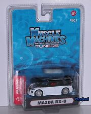 Muscle Machines Tuners Mazda RX-8 Import A-06 Release Street Racing 1:64 Scale