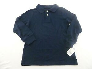 Boys OshKosh B'Gosh Long Sleeve Polo Shirt
