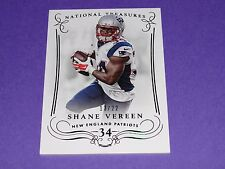 2014 National Treasures SHANE VEREEN #2 Century Numbers/22 Patriots - Giants CAL