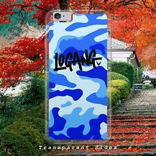 LOGAN PAUL MAVERICK LOGANG/BLUE CAMO/HARD PLASTIC/PHONE CASE/COVER FOR IPHONE