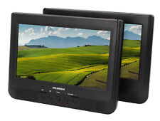 "Sylvania 10.1"" Dual Screen Portable DVD Player w/ Remote & Car Seat Mount"