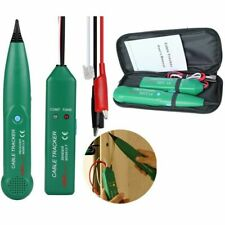 Network Telephone Line Finder Cable Tracker Tester Toner Electric Wire Tracer