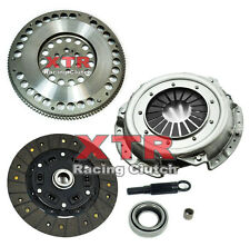 XTR SPORT CLUTCH KIT & 4140 CHROMOLY FLYWHEEL FOR NISSAN 240SX KA24E KA24DE