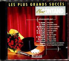 LES PLUS GRANDS SUCCES D'YVES MONTAND PAR DIVERS ARTISTES  CD NEUF ET SOUS CELLO