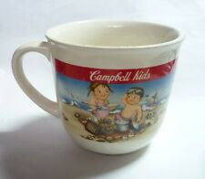 Campbell'S Ceramic Soup Mug Bowl Breakfast Malaysia Beach Design 90's Rare