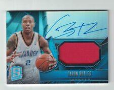 2013 Spectra Light Blue Caron Butler On Card Autograph Patch #'d /30 - Thunder