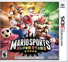 Mario Sports Superstars Amiibo Compatible Nintendo 3DS New Sealed Ships Fast !!!