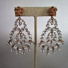 J.Crew BEADED RUMBA Earrings ~ G3600 ~*~Crystal~*~ NWT