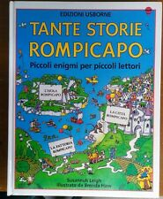 TANTE STORIE ROMPICAPO Piccoli enigmi  edizioni Usborne LEIGH illustrato HAW