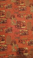 Vintage 1960's Mid Century Woven Fabric -Used in Movie $ goes to Charity