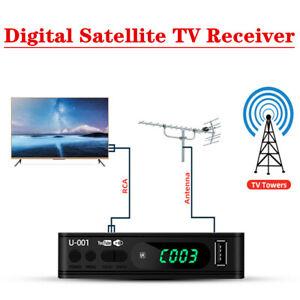 Smart HD 1080P MYTV Decoder DVB-T2 Digital Satellite TV Box Receiver USB/OTA