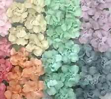 25 Variation - Pastel Mulberry Paper Flower Wedding Card Scrapbook Rose 426/zR19