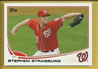 Stephen Strasburg 2013 Topps Series 2 Card # 500 Washington Nationals Baseball