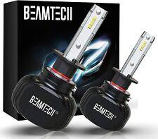 BEAMTECH H1 LED Bulb CSP Chips 50W 8000 Lumens 6500K Xenon White Bright