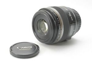 Canon EF-S 60mm f/2.8 USM Macro Lens - With Front and Rear Lens Caps