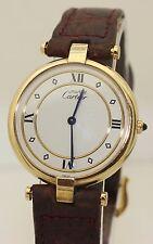 Ladies Mid Size 30mm Gold Vermeil Must de Cartier Vendome - Quartz